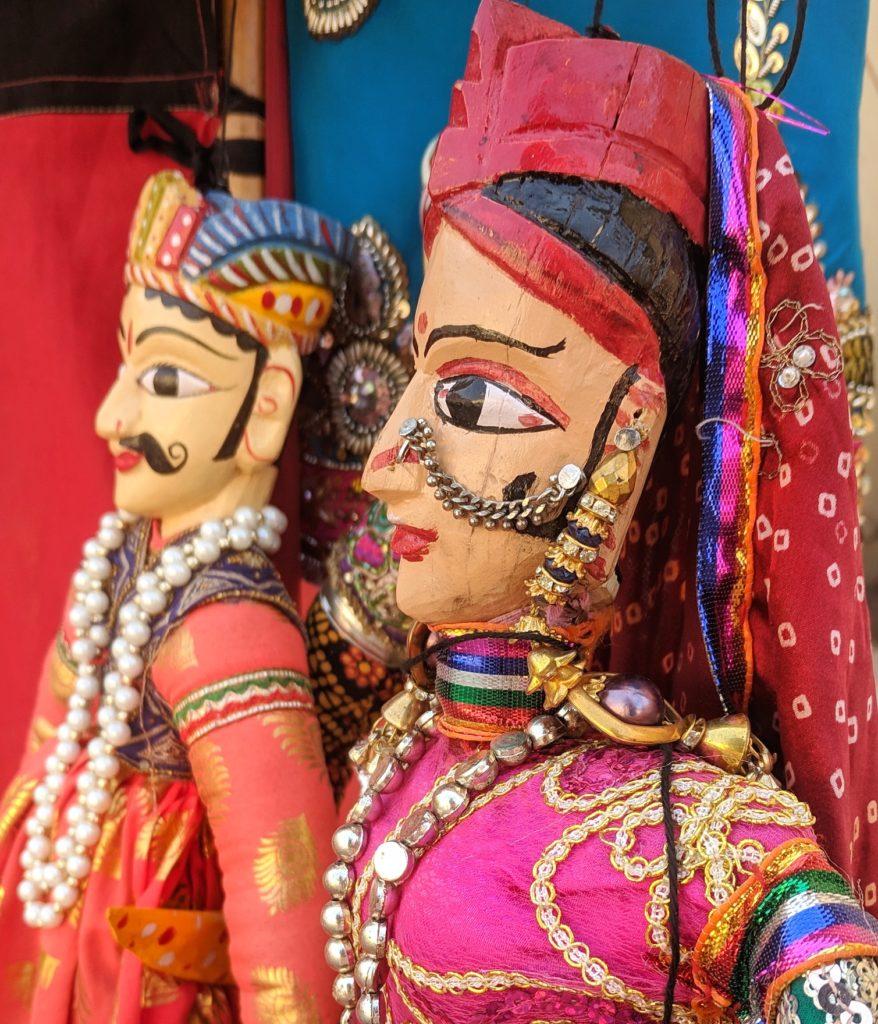 Jaipuri puppet dolls